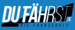 """Logo Du Fährst """"Die Fahrschule"""""""
